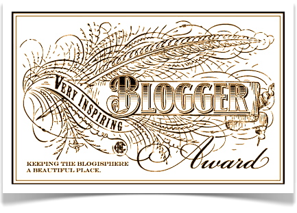 Very Inspiring Blogger Award Nomination
