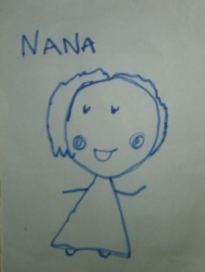 This is a picture of me, illustrated by my granddaughter, Moriah... (for those who may have wondered what I look like)