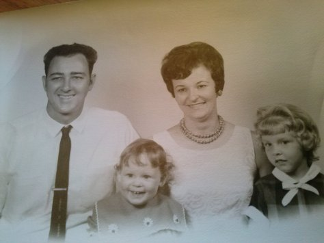 Dad, Teresa, Mom and Me