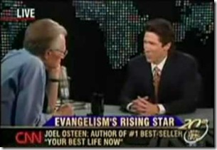 Joel Osteen on Larry King Live