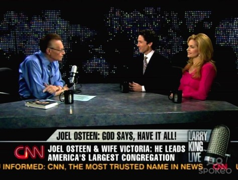 Joel and Victoria Osteen on Larry King Live