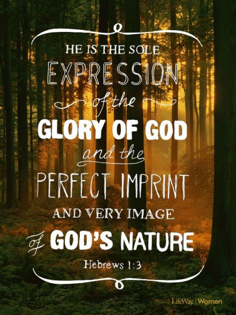expression of the glory of god