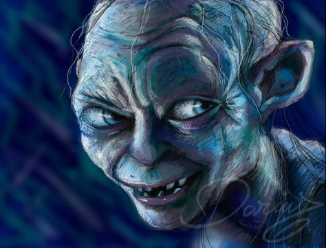 Gollum by: DarDesign