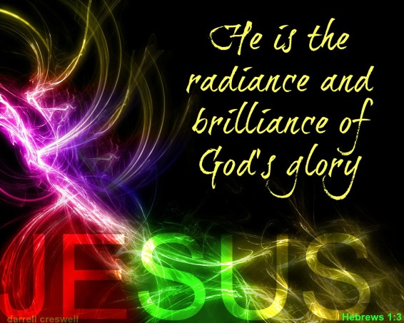 Christ the radiance of god s glory hebrews 1 3 burning fire