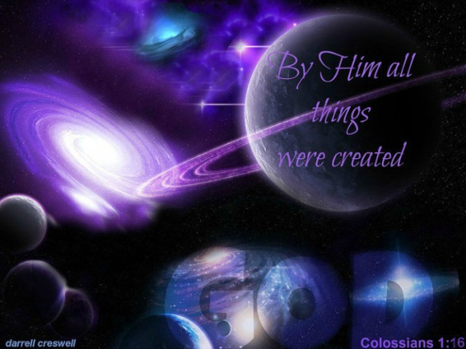 All Things Upheld By the Word of His Power ~ Hebrews 1:3