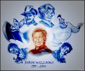 R.I.P. Robin Williams by: DanDynamite