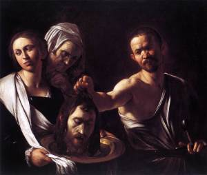 Salome with the Head of St John the Baptist c. 1607 Caravaggio