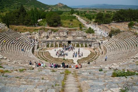 Ephesus Great Theater Where Rioters Accused Paul of Damaging Artemis
