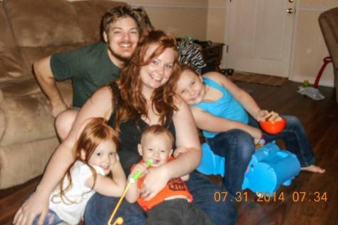 My daughter, son-in-law and family
