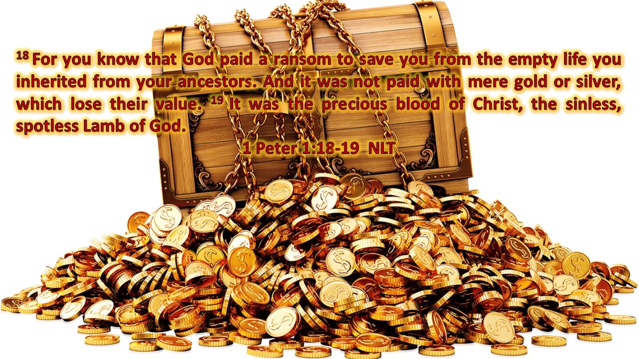1 Peter 1-18-19