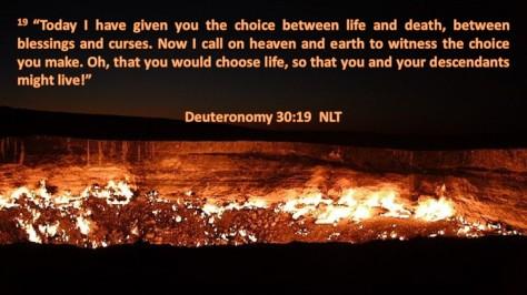 Deuteronomy 30-19