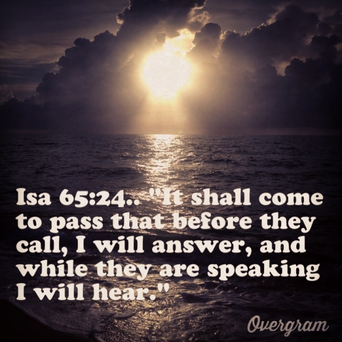 God Hears Our Voice, and He Answers Us